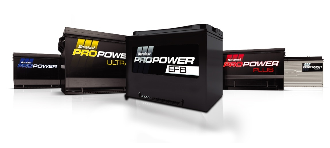 Image of Propower battery family